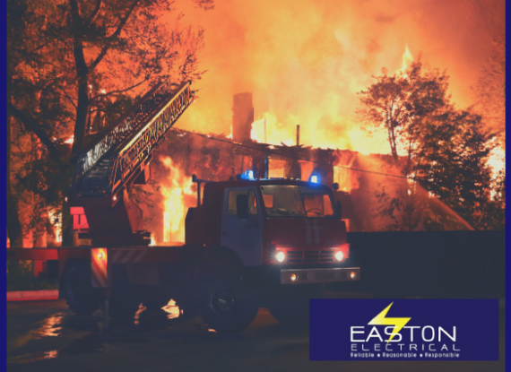 Common causes of electrical fires in the home - Easton Electrical